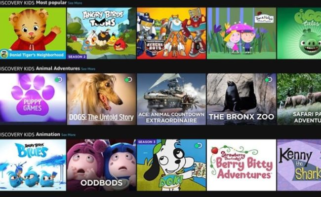 Amazon Adds Discovery Kids To Prime Video Channels