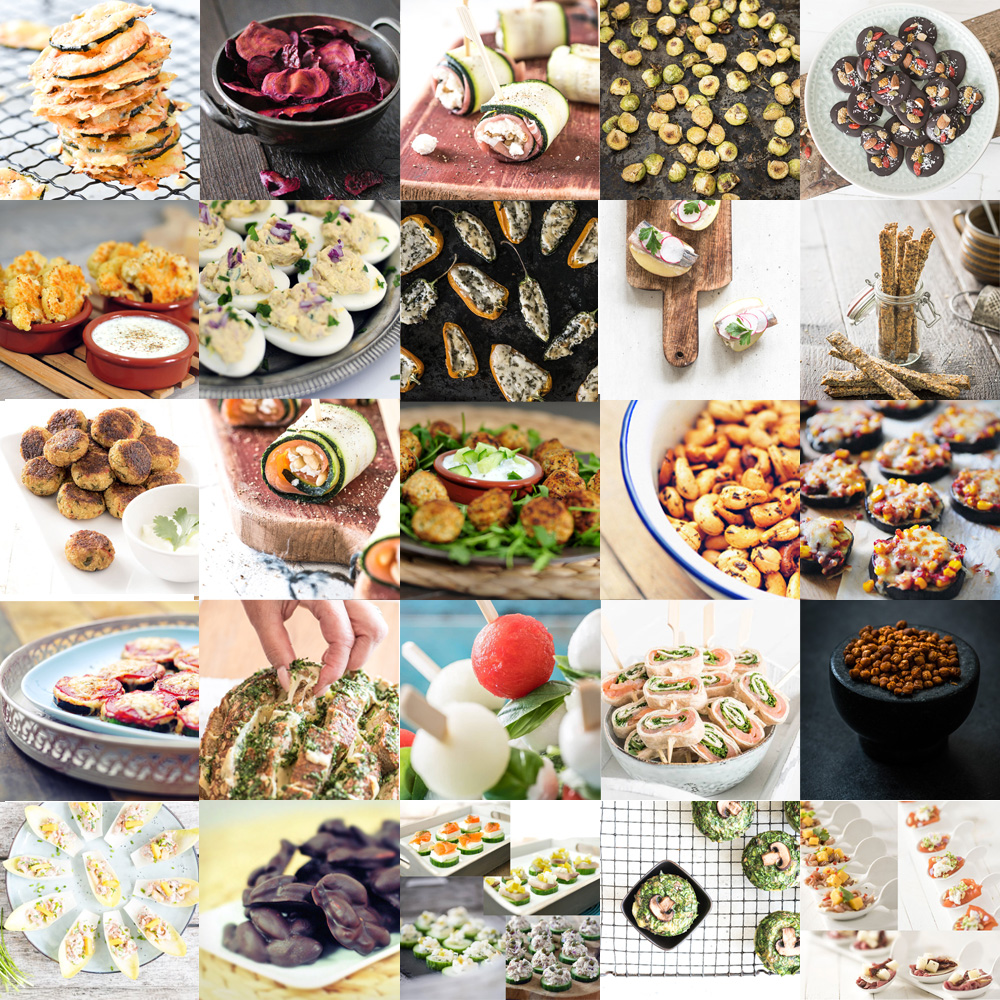 Kleine Party Snacks 25x Party Snacks Voedzaam Snel