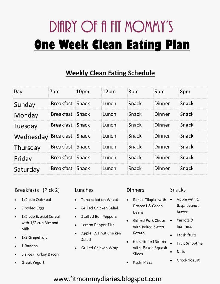 Best 25+ Daily meal plans ideas on Pinterest Daily diet plan - one week planner template