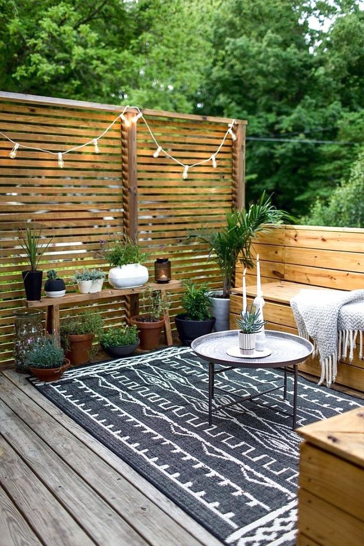 Mobilier Exterieur Tunisie Jardin Extérieur En Photos 20 Inspiring Small Outdoor Spaces