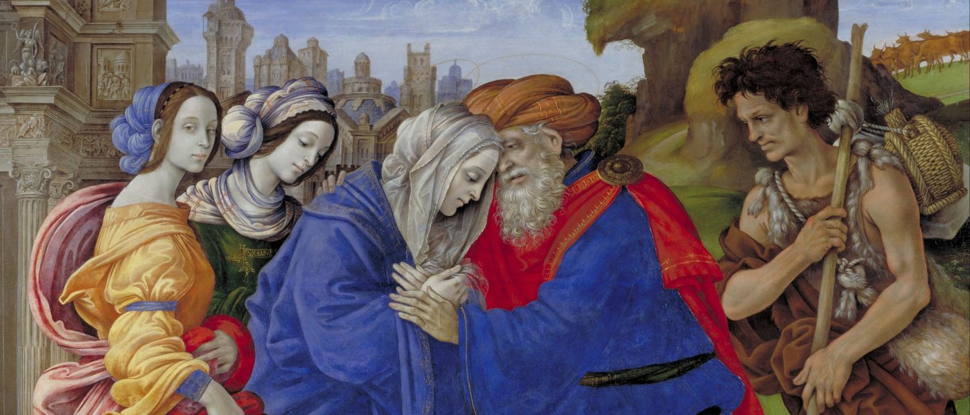 Filippino_Lippi_-_The_Meeting_of_Joachim_and_Anne_outside_the_Golden_Gate_of_Jerusalem_-_Google_Art_Project