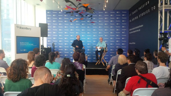 BlackBerry.TIFF.PaulHaggis.Interview