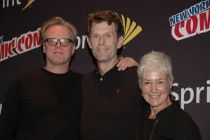 Kevin Conroy with Andrea Romano
