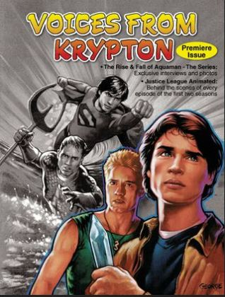 The one print edition of Voices From Krypton featured an in depth look at Mercy Reef.
