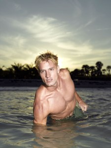 Justin Hartley played Arthur Curry in the Mercy Reef Aquaman pilot from the producers of Smallville.