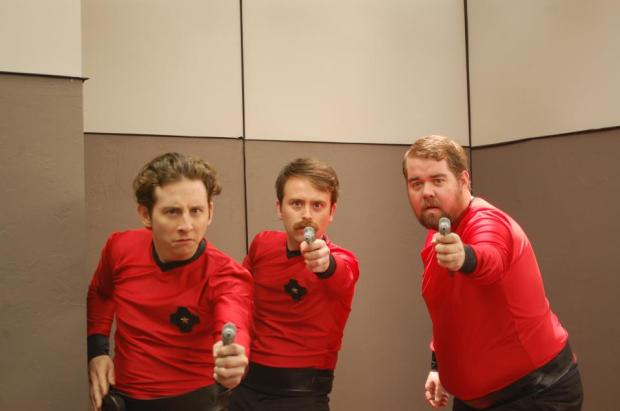 Red Shirts Webseries (Star Trek parody)