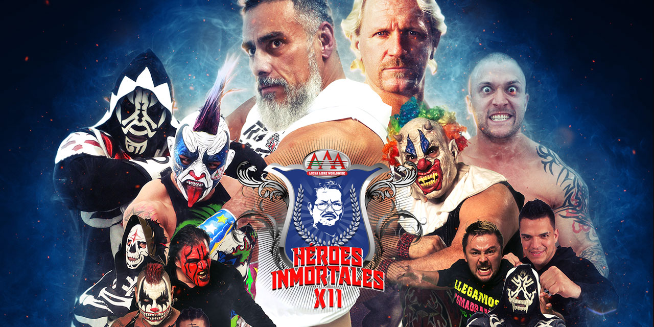 Lucha Libre Aaa Aaa Heroes Inmortales Xii Preview Voices Of Wrestling