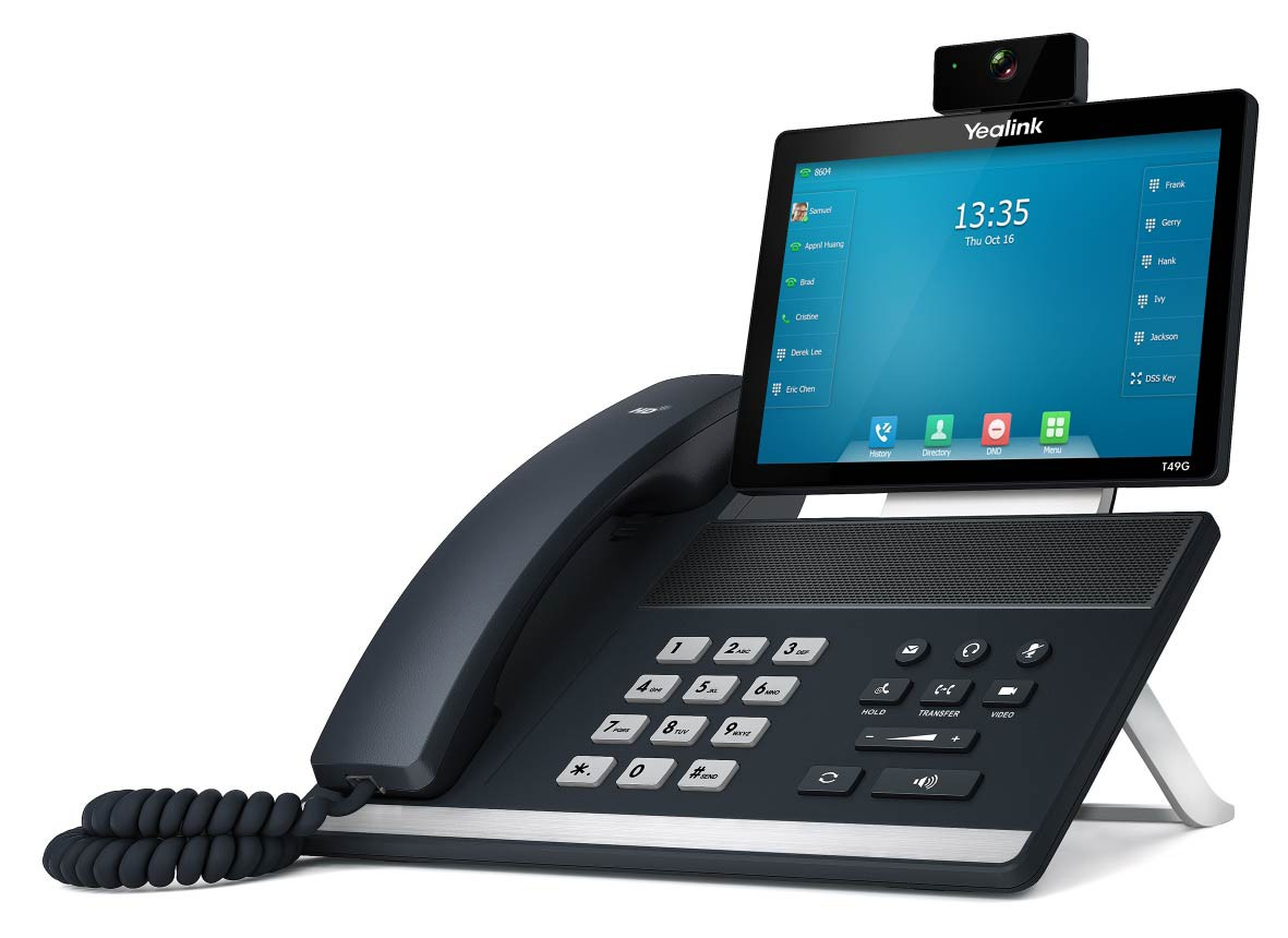 Telefoon Toestellen Yealink Ip Video Telefoon T49g Ip Video Telefoons