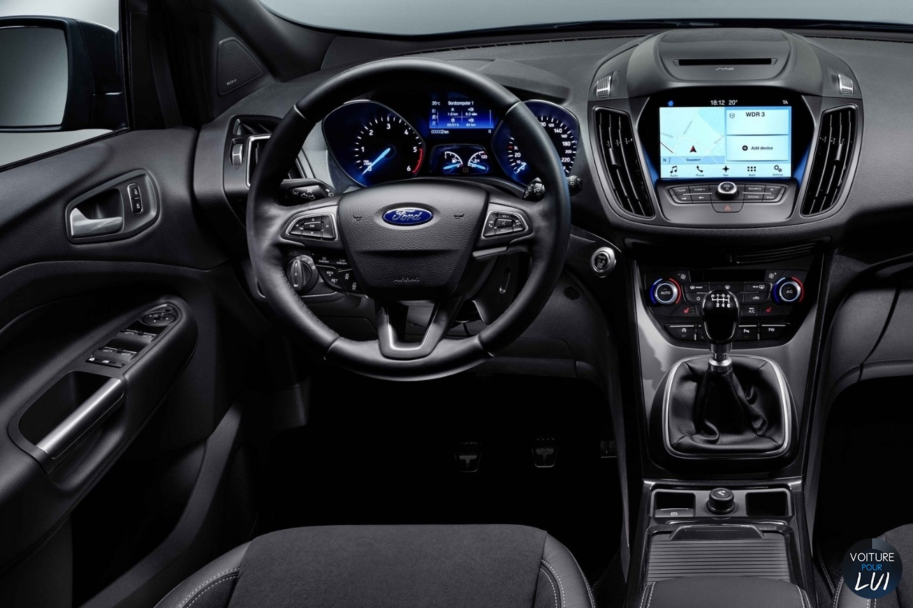 Ford Kuga 2017 Interieur Photo Kuga 2017