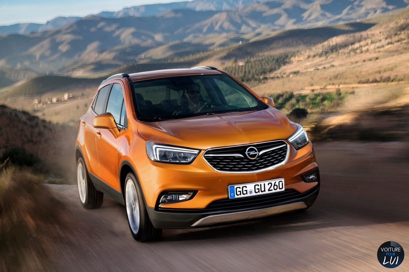 Opel Mokka Interieur 2016 Opel Mokka-x-2016 Crossover Photo