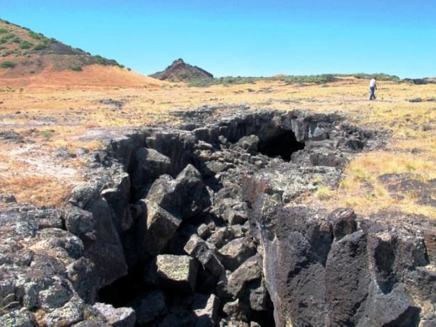 geosights volcanic features in the black rock desert millard county