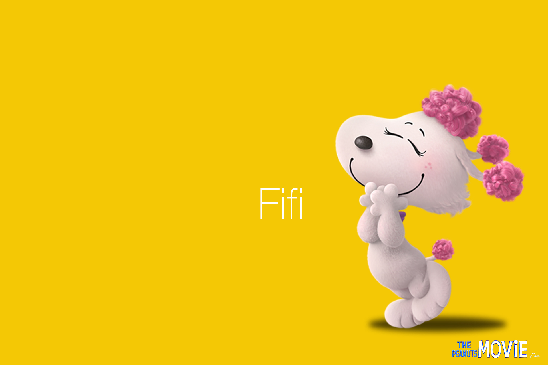 Cute Girl Pic Full Hd Wallpaper The Peanuts Movie Hd Wallpaper Fifi Volganga