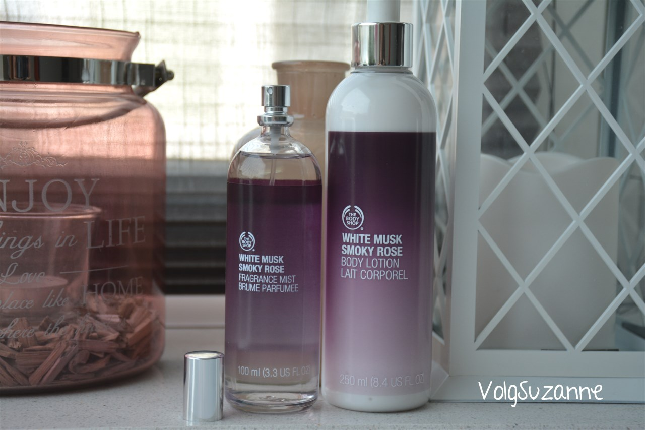 Geurtje In Badkamer The Body Shop White Musk Body Lotion & Fragrance Mist