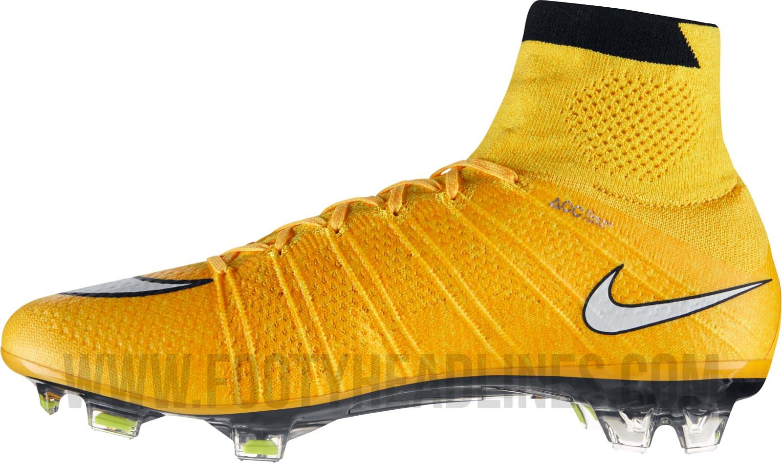 Cr7 Voetbalschoenen Nike Mercurial Superfly Iv Laser Orange White Black Volt
