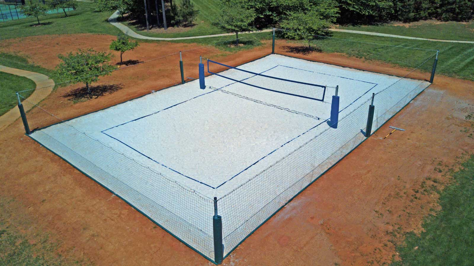 Big W Sand Pit How To Construct A Volleyball Court Volleyballusa