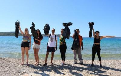 Mladi volonteri iz osam zemalja došli čistiti Šibenik i okolicu