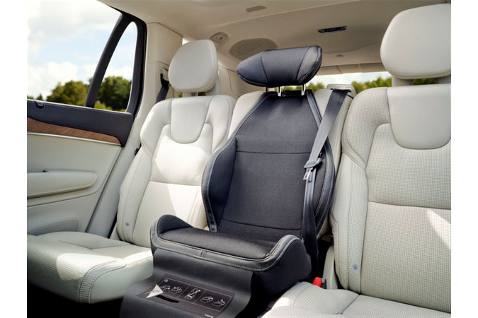 Volvo Xc90 Child Safety Seat Volvo Cars Celebrates 25th Anniversary Of The Integrated