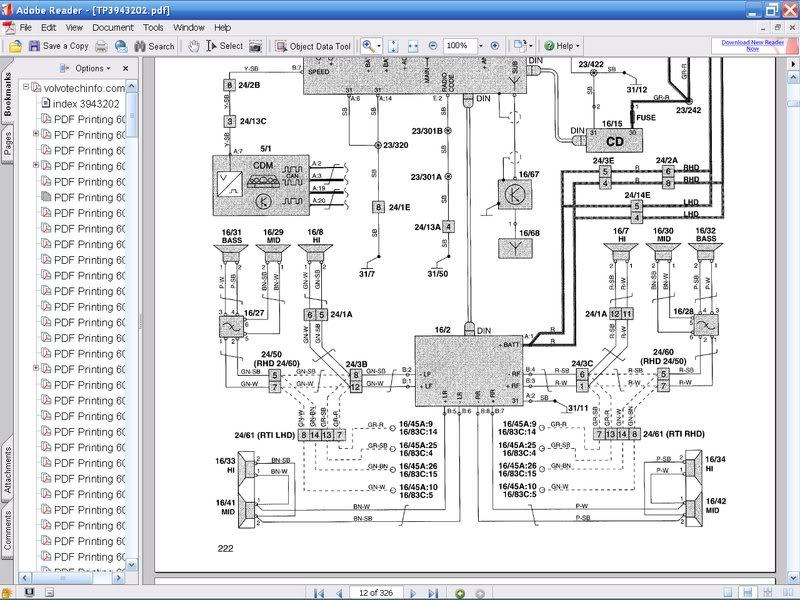 volvo hu 850 wiring diagram