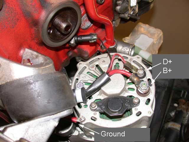 1987 240 alternator not charging - exciter wire? - Volvo Forums