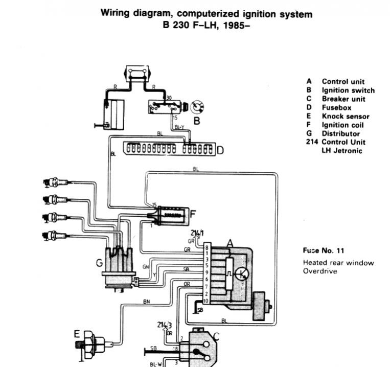 Volvo Ignition Wiring Diagram Schematic Diagram Electronic