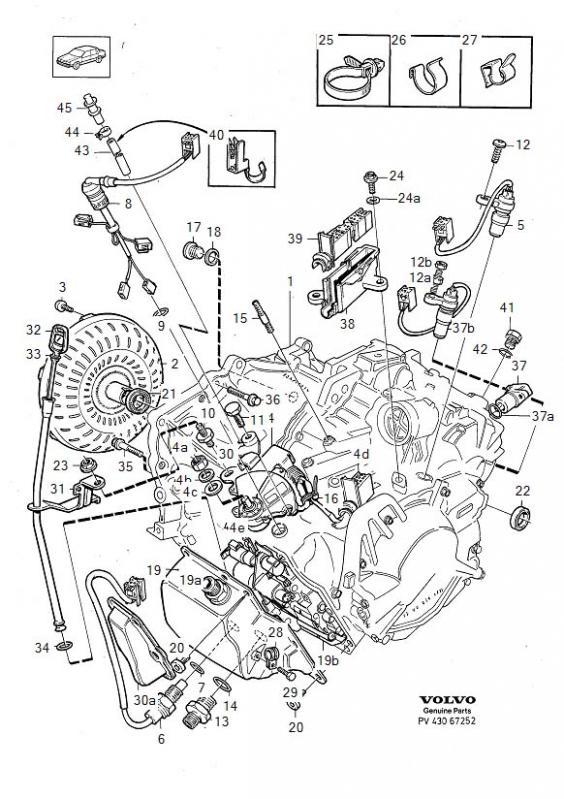volvo transmission fluid