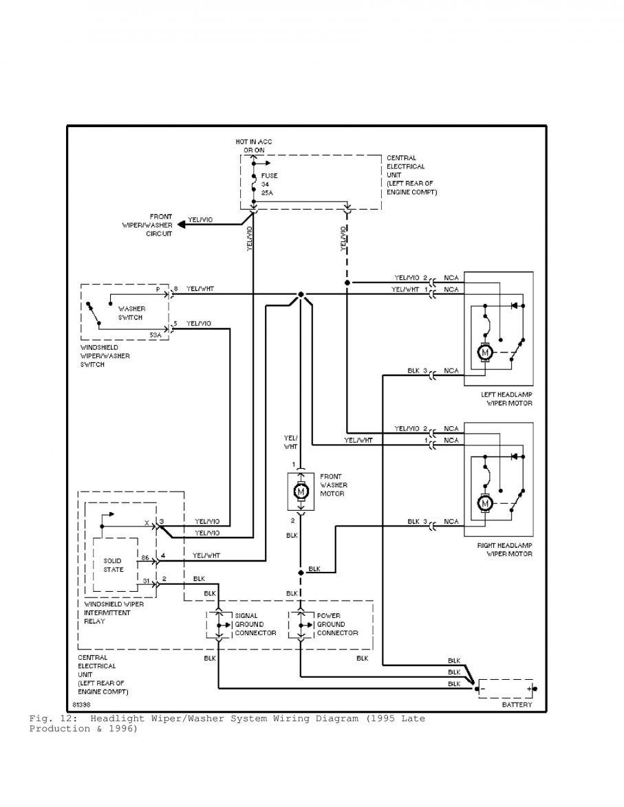 volvo 240 headlight wiring