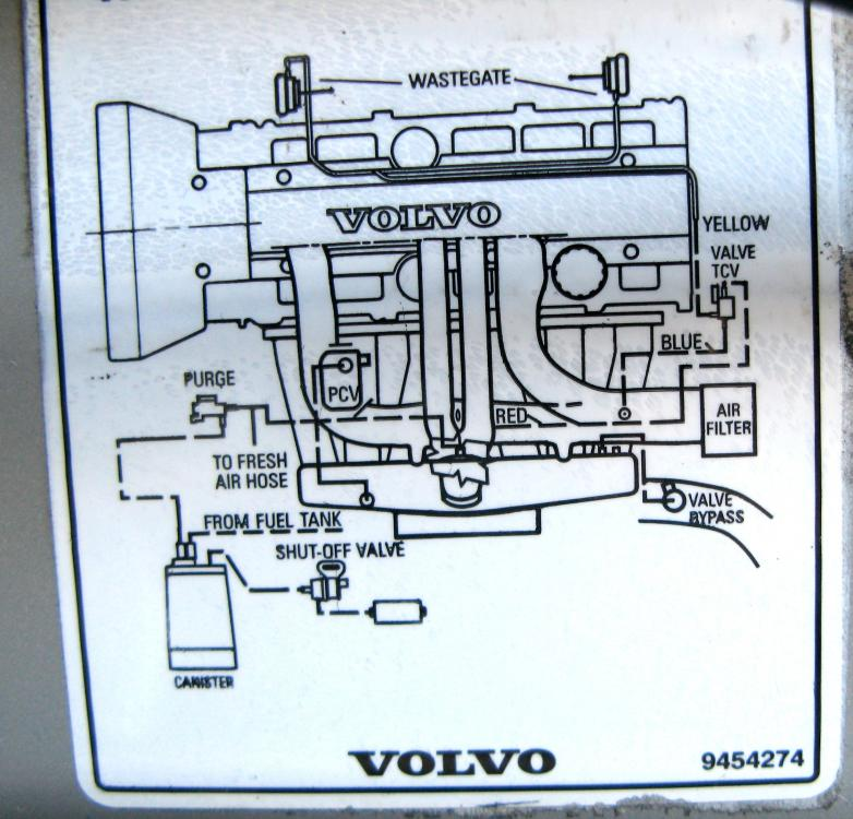 1999 volvo s80 engine diagram