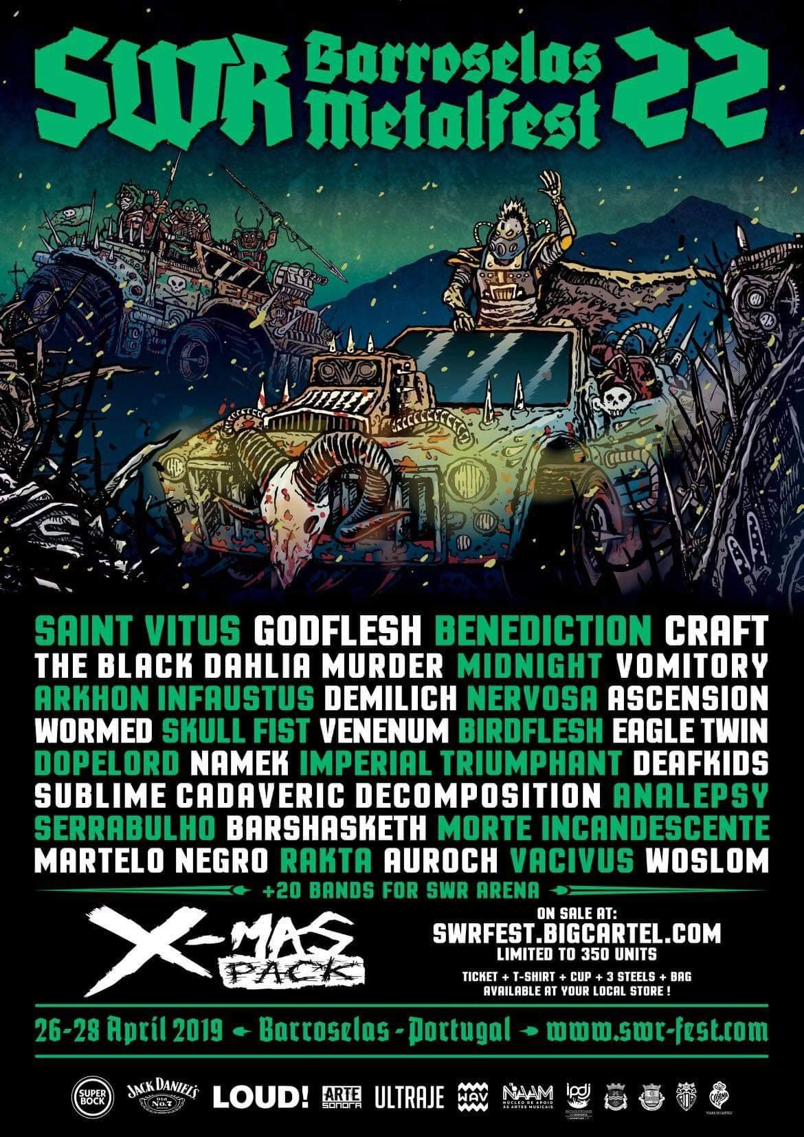 Arte Concert Hellfest Live Vomitory Official News
