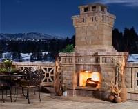 5 Amazing Outdoor Fireplace Designs - Vonderhaar