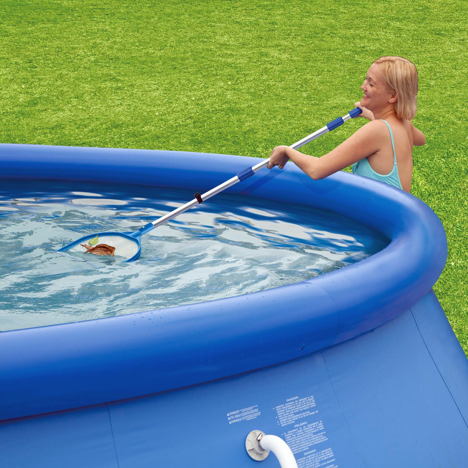 Quick Pool Bodensauger Summer Escapes Pool Reinigungsset Mit Kescher Bodensauger