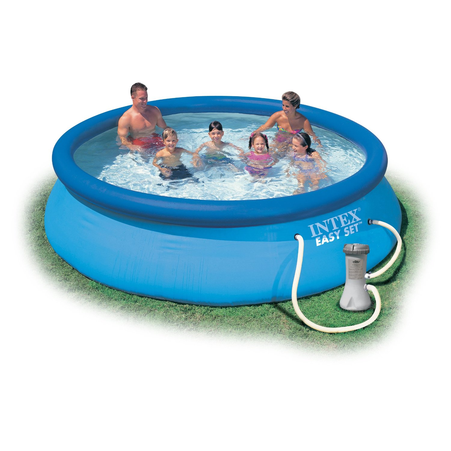 Easy Pool Pflege Pool Mit Filteranlage Quick Up Pool 457 X 91cm Fast Set