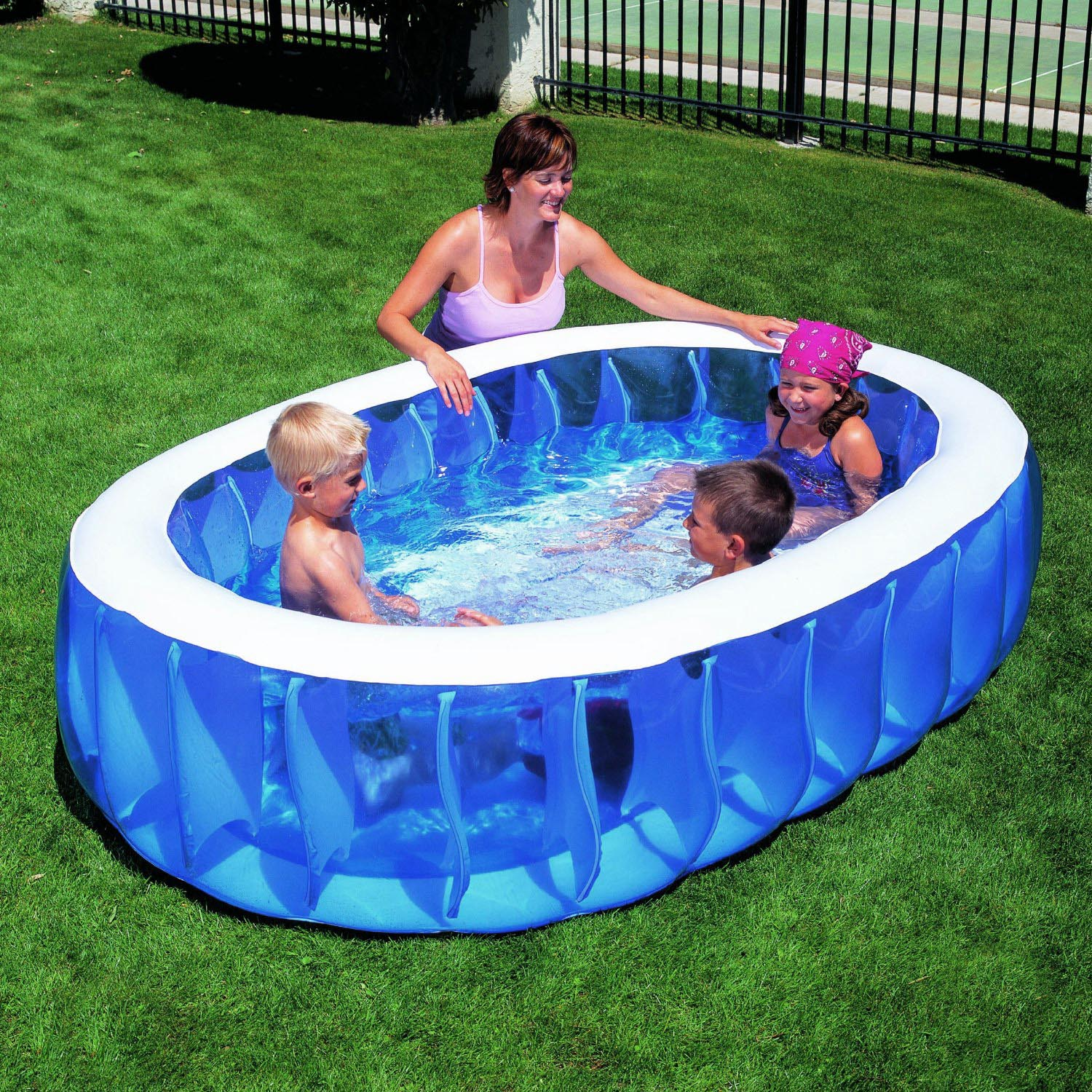 Pool Reinigungsset Bestway Summer Waves Fast Set Quick Up Pool 366x91cm Swimmingpool