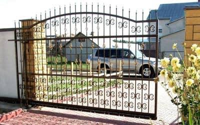 Кованные ворота Одесса