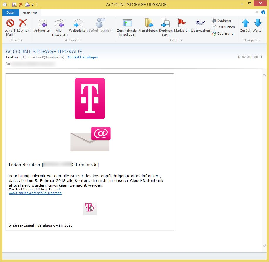 T-online.e Account Storage Upgrade Von Telekom T0nlinecloud T Online De