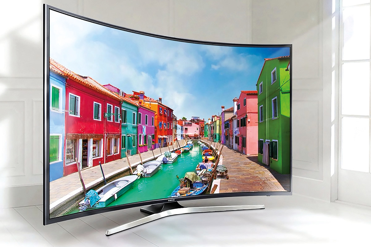 Curved Tv Wohnzimmer Curved Uhd Smart Tv 49