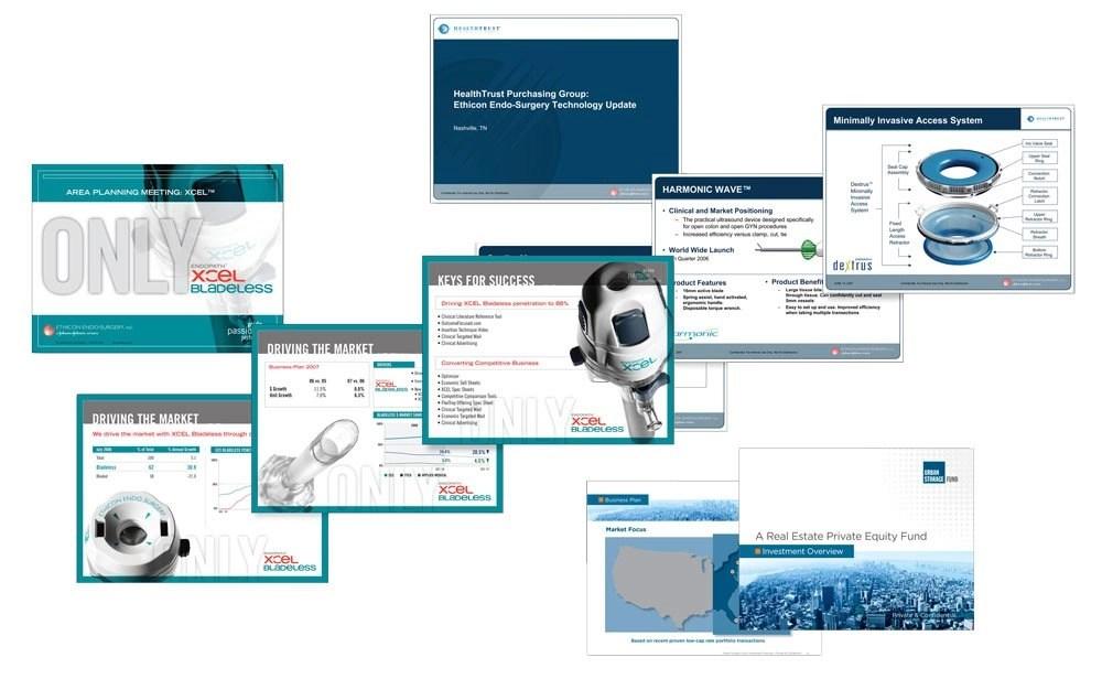 Powerpoint + Keynote Presentation Graphic Design Vortex