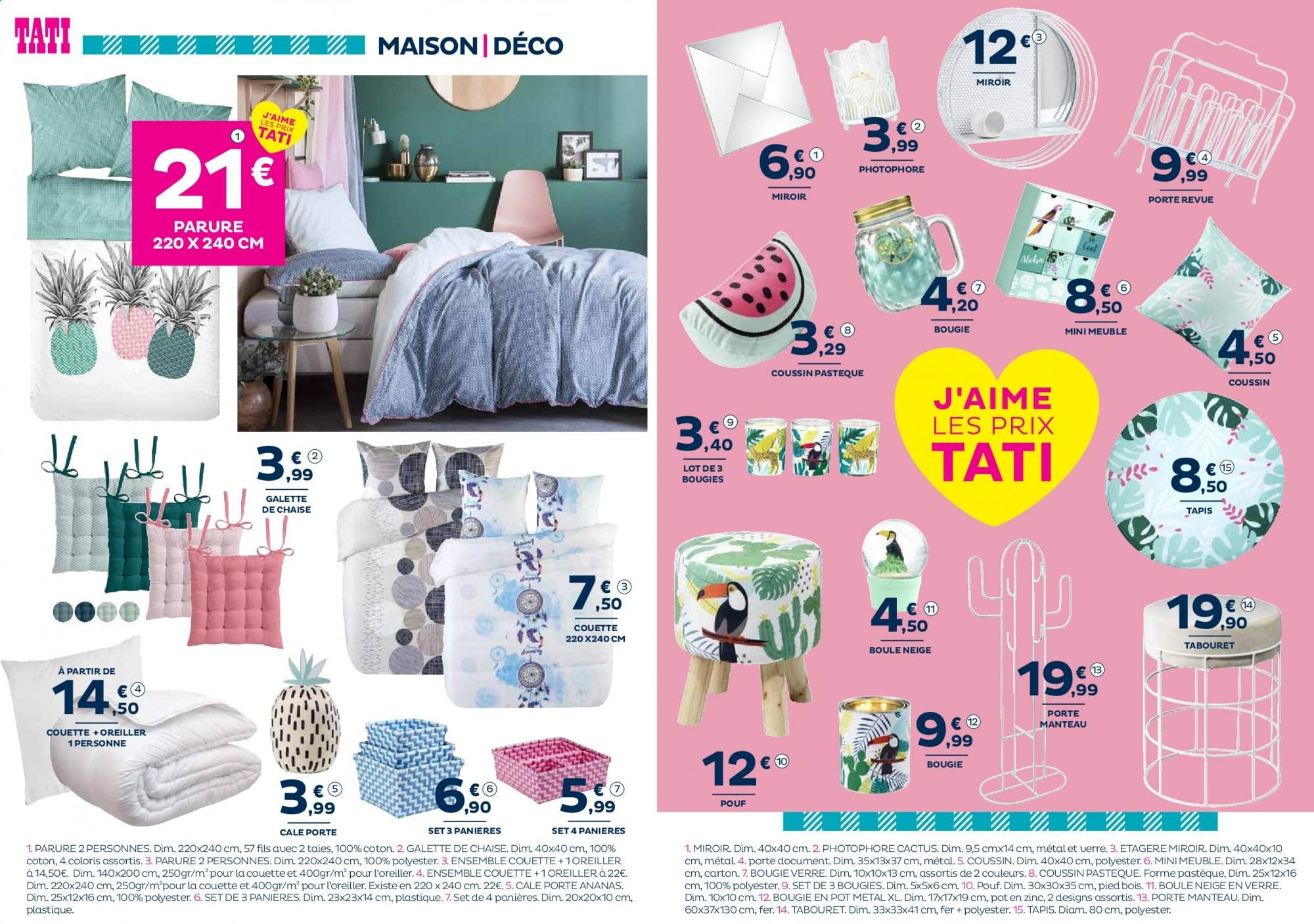 Magasin Tati Chaises Catalogue Prospectus Pub Tati 04 06 2019 19 06 2019