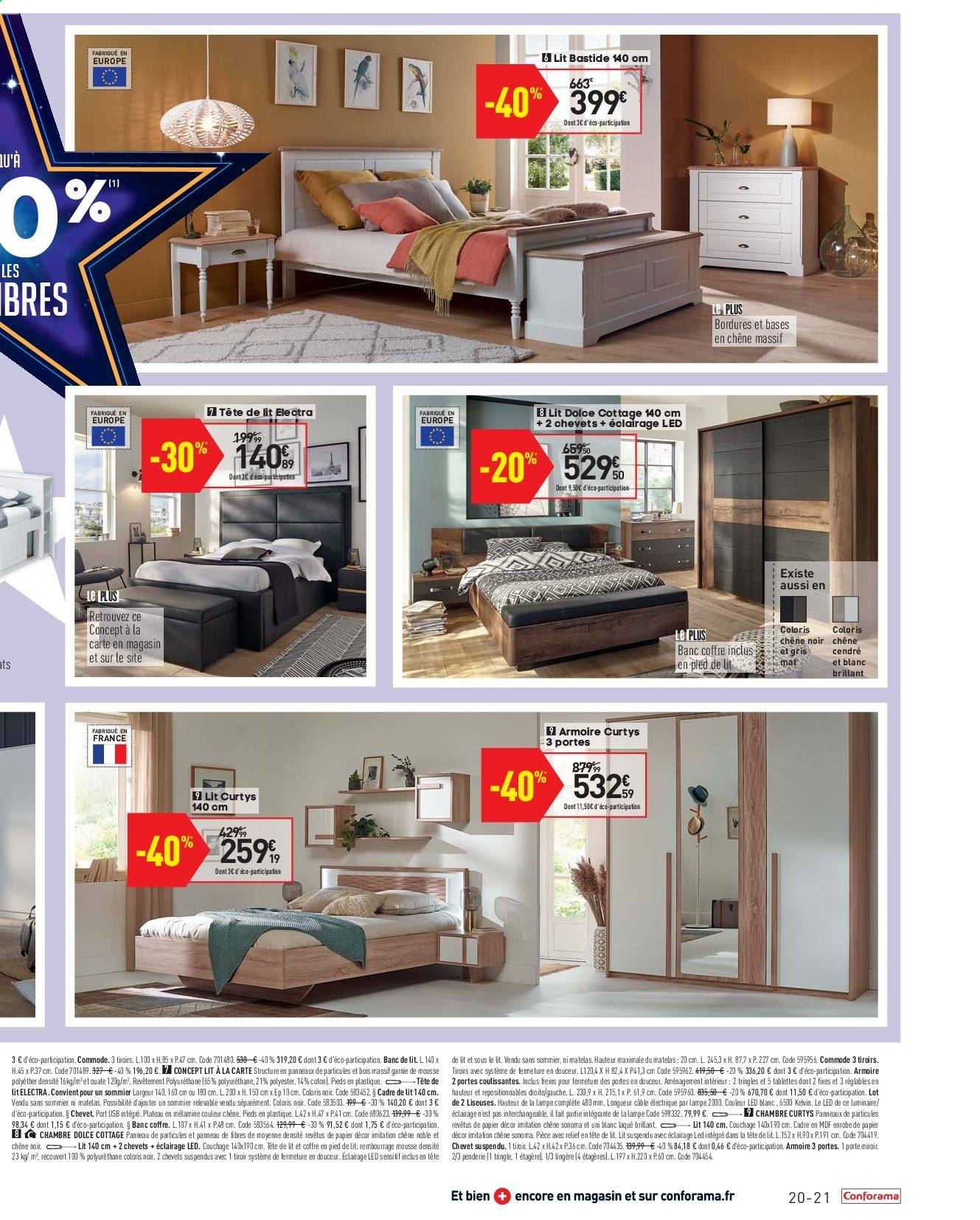 Commode Conforama Angers Catalogue Prospectus Pub Conforama 27 08 2019 23 09 2019