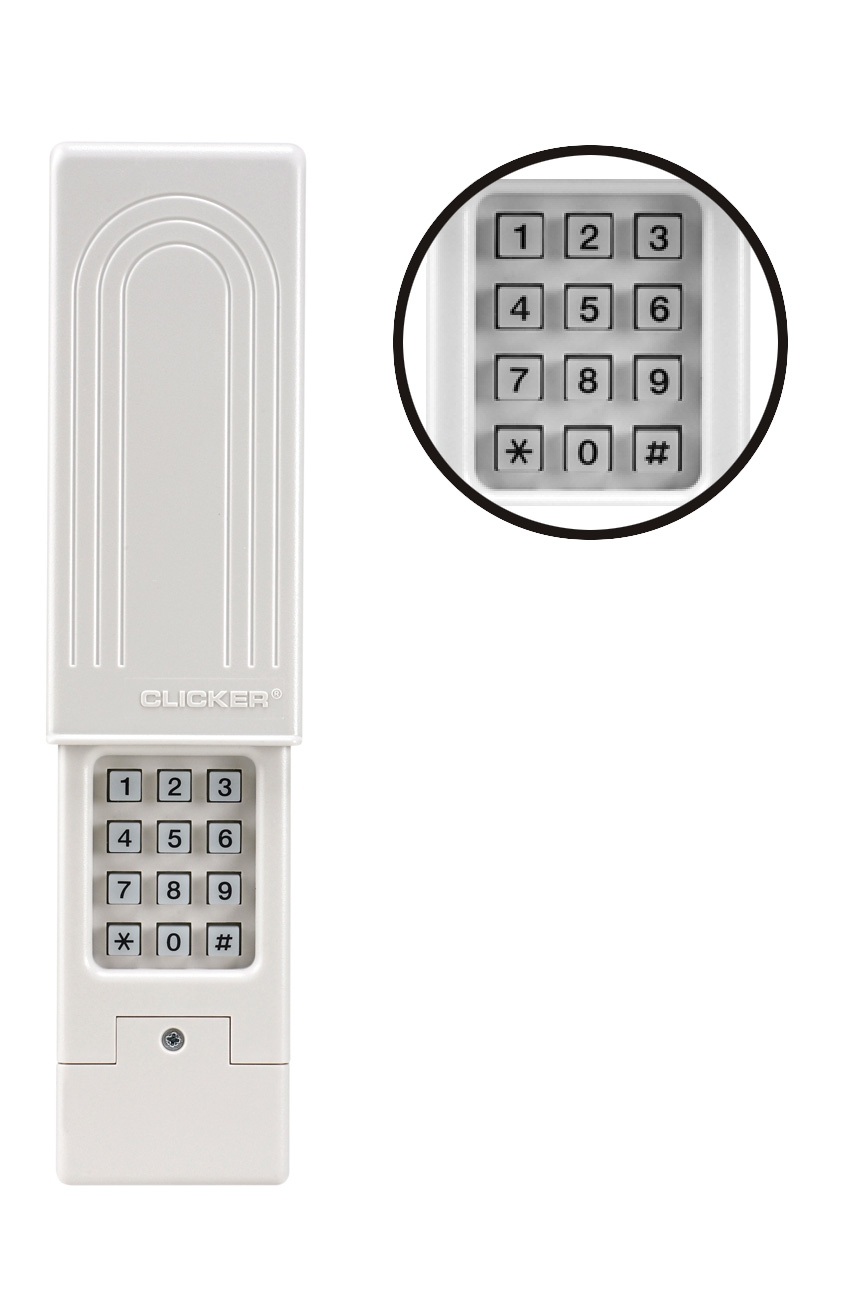Keyless Garage Door Entry Pad Genie Garage Door Keyless Entry Pad For Your Own Home