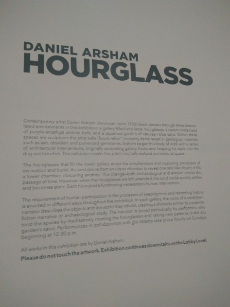Daniel Arsham at the High