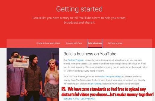 YouTube monetizes anything