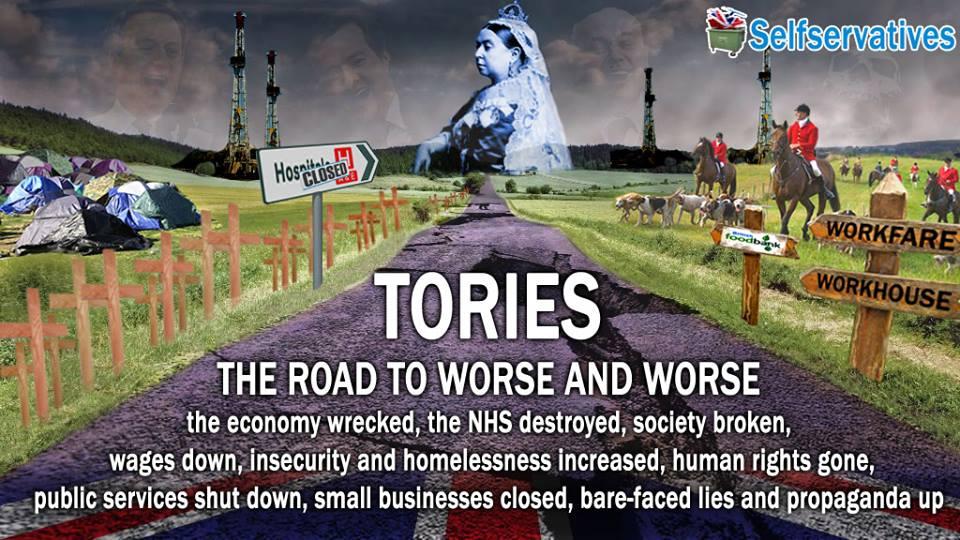 Tory experiment failed