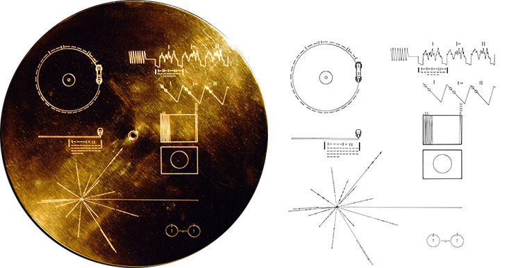 Voyager - The Golden Record Cover