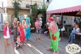 Отдых в Крыму с детьми. Заозерное. Гостиный двор Вояж. А у нас сегодня клоуны!