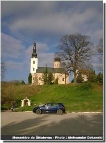 Monastère sisatovac à Fruska Gora en Serbie
