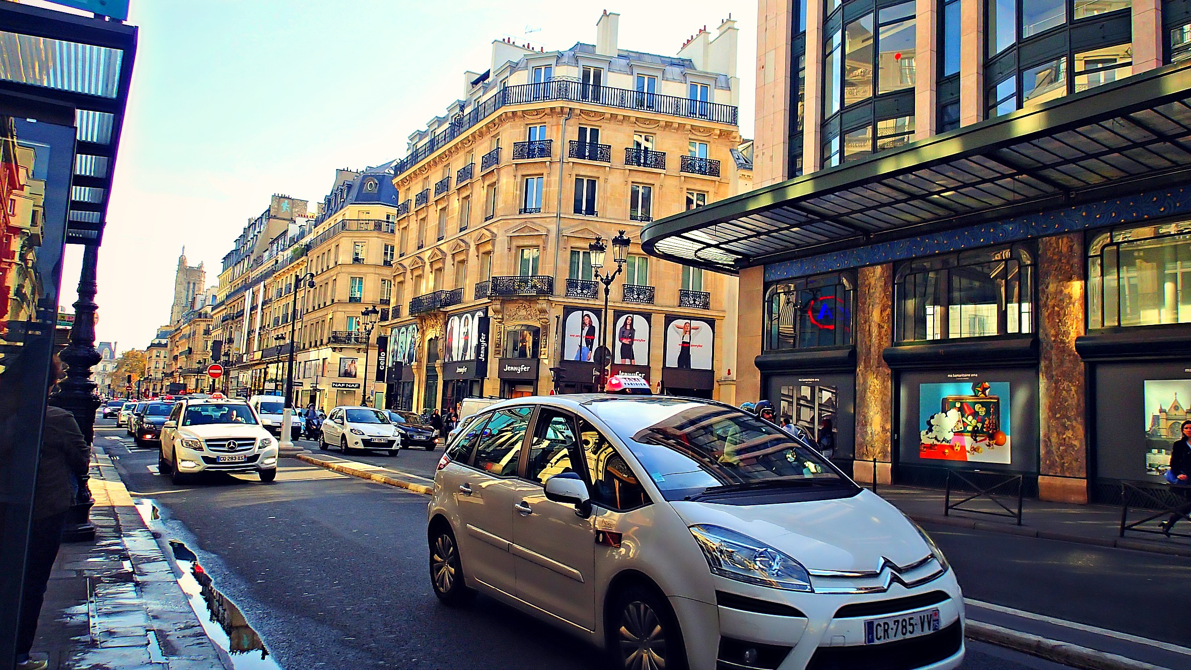 Celio Chatelet A Day In Paris Part One Voyages Et Vagabondages