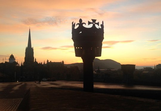 Edinburgh sunrise
