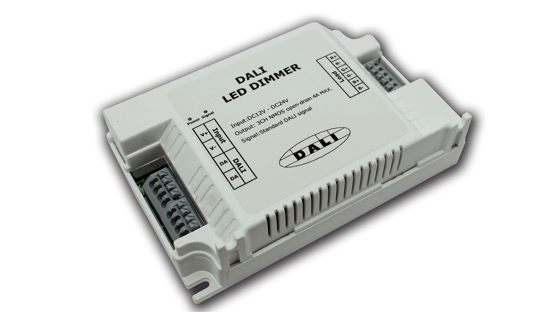 Rgb Dimmer Rgb Led Lighting Control Dali Dimmer 3 Channels Output