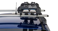 Ski Carrier and Fishing Rod Holder - Holds 2 Skis or 1 ...