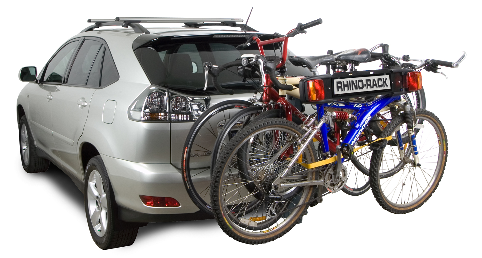 Rbc008 4 Bike Carrier Towball Mount Rhino Rack